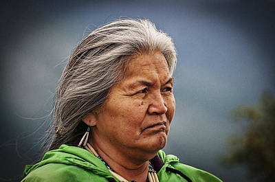 Photograph - Alaskan Native by Bill Howard