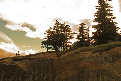 Photograph - Alaskan Ridge by Ronald Olivier