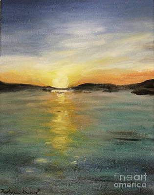 Painting - Alaskan Sunrise by Barbara Anna Knauf