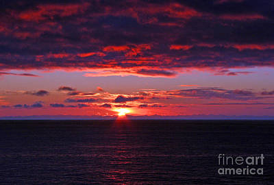 Alaskan Sunset Art Print