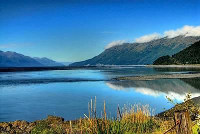 Photograph - Alaska's Cook Inlet by Dyle   Warren