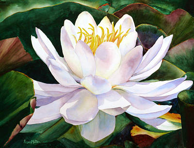 Alba Flora Art Print