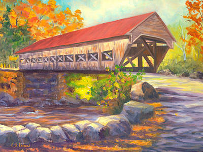Albany Covered Bridge #49, New Hampshire Original