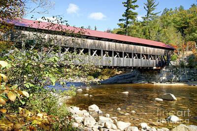 Photograph - Albany Covered Bridge by David Birchall