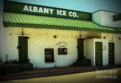 Photograph - Albany Ice Co by Fred Lassmann