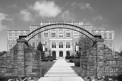 Albany Law School Gate Art Print by University Icons