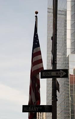 September 11 Wtc Digital Art - Albany Street by Rob Hans