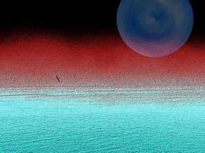 Digital Art - Albatross Mist by Tim Allen