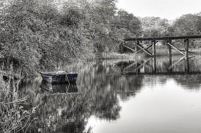 Photograph - Albergottie Creek Trestle by Scott Hansen