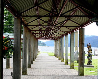 Photograph - Alberni Harbour Quay by Betty-Anne McDonald