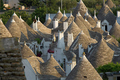 Alberobello Photograph - Alberobello, Puglia, Italy by Peter Adams