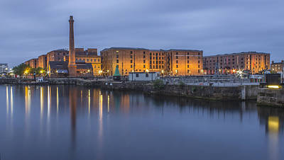 Albert Dock From The Canning Dock Art Print by Paul Madden
