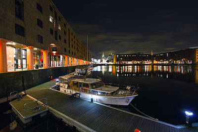 Photograph - Albert Dock Liverpool by Wayne Molyneux