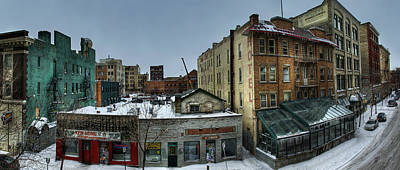 Winnipeg Photograph - Albert Street by Bryan Scott