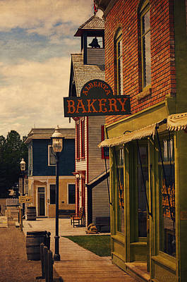 Old Town Digital Art - Alberta Bakery I by Maria Angelica Maira