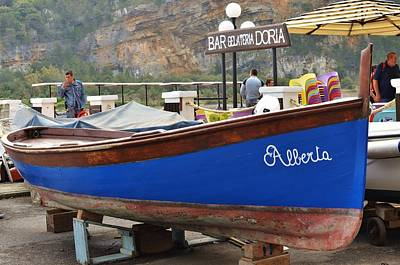 Photograph - Alberta Boat by Dany Lison