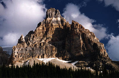 Photograph - Alberta Canada  Mt. Peak by Robert Lozen