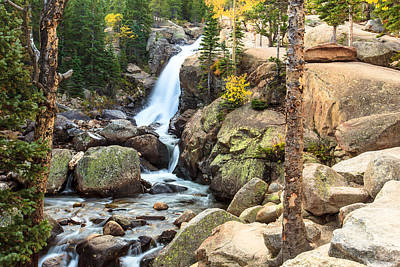 Photograph - Alberta Falls by Ben Graham