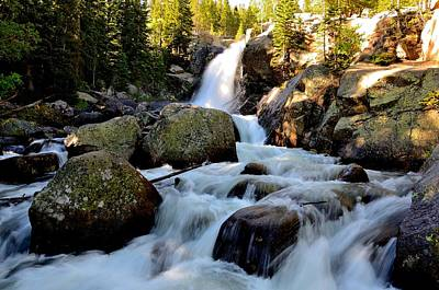 Photograph - Alberta Falls In Rmnp by Tranquil Light  Photography