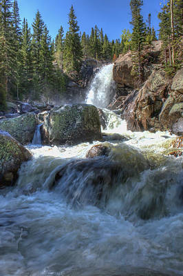 Photograph - Alberta Falls by Perspective Imagery