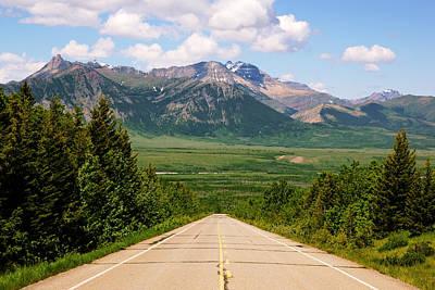 Photograph - Alberta Highway 6 To Waterton by Daniel Woodrum