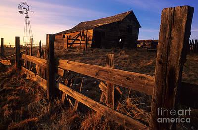 Photograph - Alberta Homestead by Bob Christopher