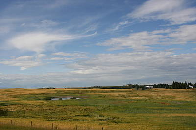 Photograph - Alberta Landscape by Betty-Anne McDonald