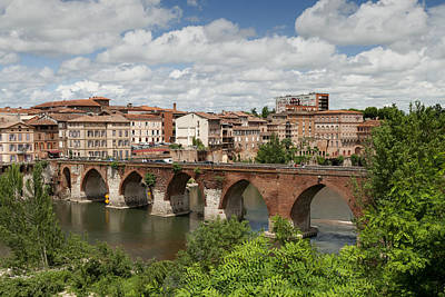 Photograph - Albi France Pont Vieux by Greg Kluempers