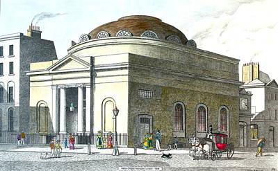 Albion Chapel Moorgate Art Print