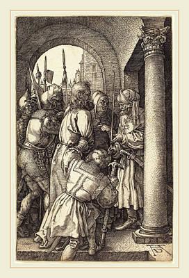 Albrecht Dürer German, 1471-1528, Christ Before Pilate Art Print