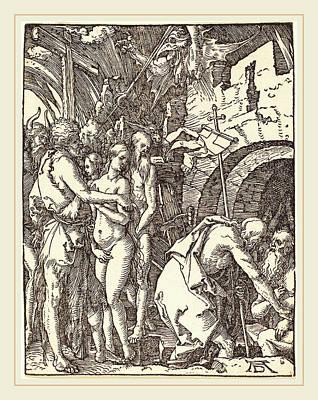 Albrecht Dürer German, 1471-1528, Christ In Limbo Print by Litz Collection