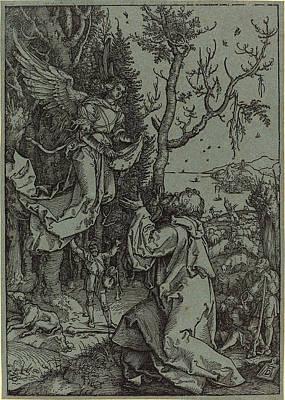 Albrecht Dürer German, 1471 - 1528, Joachim And The Angel Art Print by Quint Lox