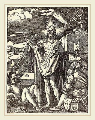Albrecht Dürer German, 1471-1528, The Resurrection Art Print by Litz Collection