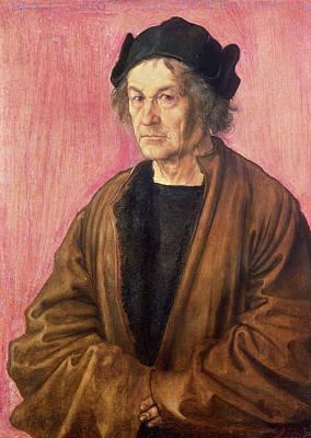 Albrecht Durers Father, 1497 Panel Art Print