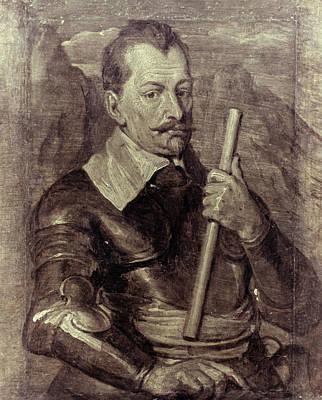 Grisaille Painting - Albrecht Von Wallenstein (1583-1634) by Granger