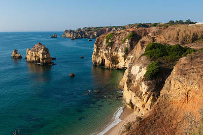 Photograph - Albufeira Coastline Portugal by Iryna Soltyska