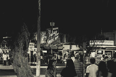 Photograph - Albufeira Street Series - Cafe Del Mar I by Marco Oliveira