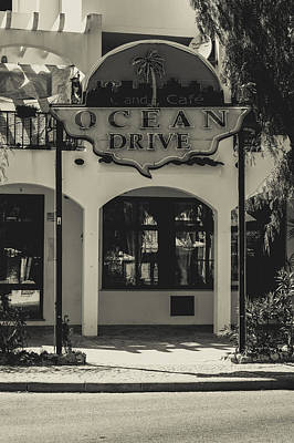 Photograph - Albufeira Street Series - Ocean Drive by Marco Oliveira