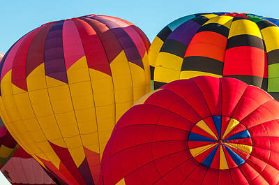 Photograph - Albuquerque Balloon Fiesta 1 by Lou  Novick