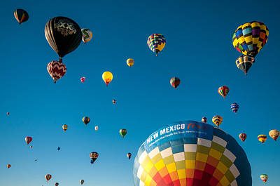 Photograph - Albuquerque Balloon Fiesta 12 by Lou  Novick