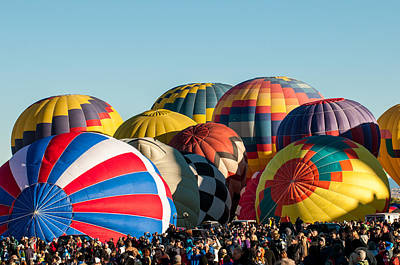 Photograph - Albuquerque Balloon Fiesta 3 by Lou  Novick