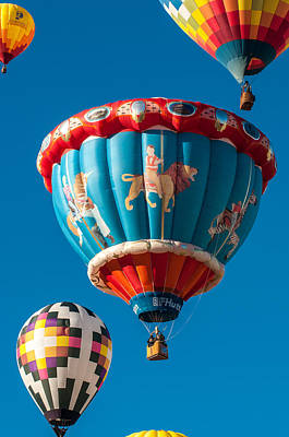 Photograph - Albuquerque Balloon Fiesta 5 by Lou  Novick