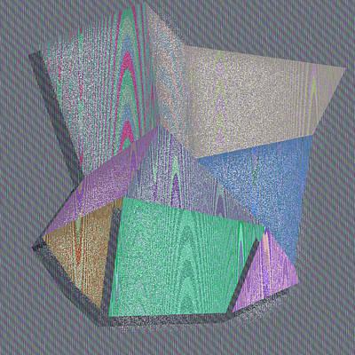 Textured Digital Art - Albuquerque by Gareth Lewis