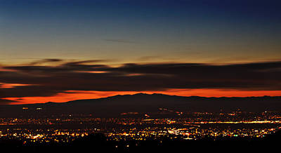 Albuquerque Sunset Art Print