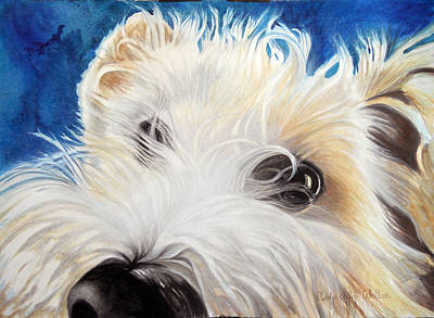 Painting - Albus by Carolyn Coffey Wallace
