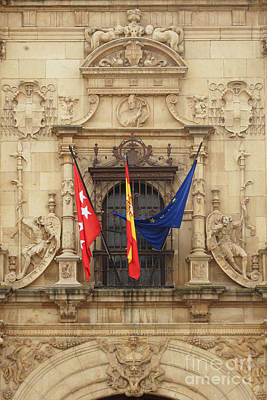 Photograph - Alcala De Henares University 2 by Rudi Prott