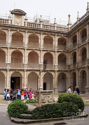 Photograph - Alcala De Henares University 3 by Rudi Prott