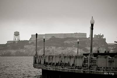 Alcatraz Art Print by Alex King
