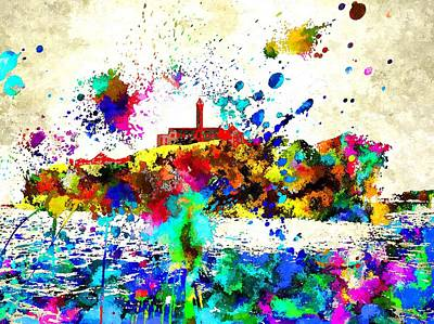 Alcatraz Art Print by Daniel Janda