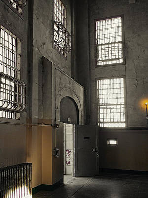 Alcatraz Doorway To Freedom Art Print by Daniel Hagerman